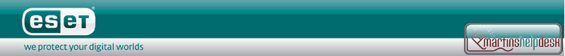 ESET Header Bar